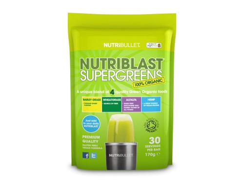 NutriBlast SuperGreens Doplnok do smoothie Delimano