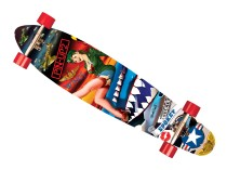 Pin-Up II Longboard Spokey